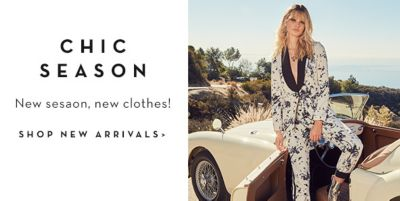 Chic Season, New Season, new clothes! Shop New Arivals