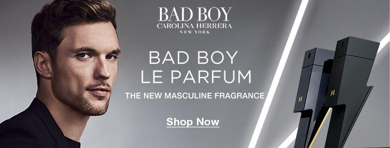 Bad Boy Carolina Herrera, New York, Bad Boy Le Parfum, The New Masculine Fragrance, Shop Now
