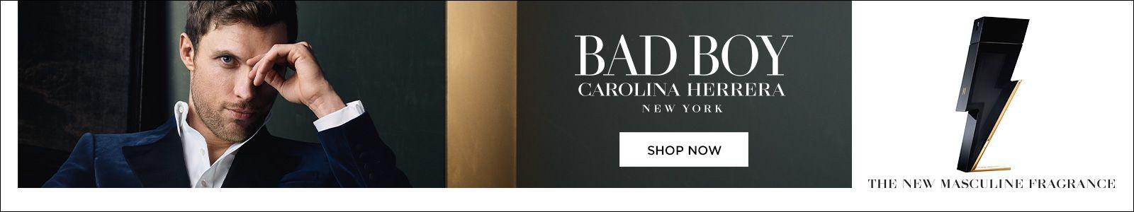 Bad Boy, Carolina Herrera, New York, Shop Now, The New Masculine Fragrance
