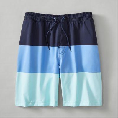 O/'Neill Boys 27 Surf Beach Board Shorts Santa Cruz Stripe Green Size 14