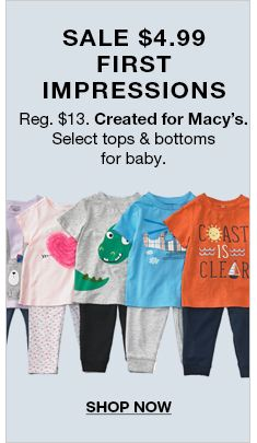 First Impressions Baby Clothes - Macy's