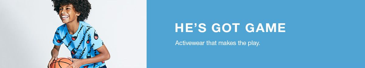 He's Got Game, Activewear that makes the play
