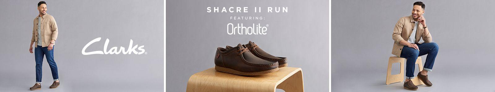 Clarks, Shacre II Run, Featuring: Ortholite