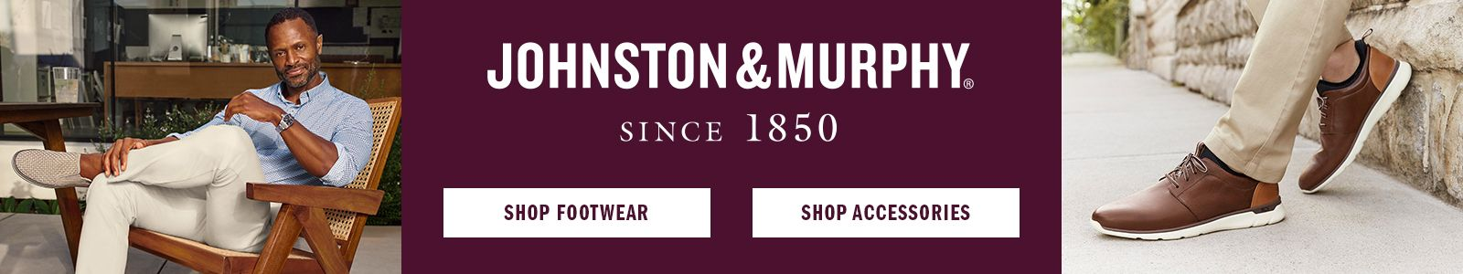 Johnston and Murphy Since 1850