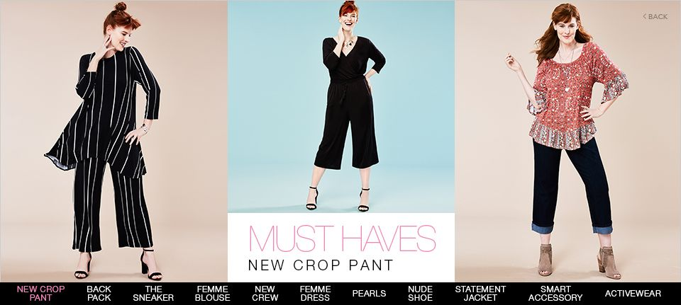 Must Haves New Crop Pant