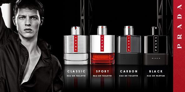 Classic, Eau de Toilette, Sport, Eau de Toilette, Carbon, Eau de Toilette, Black, Eau de Parfum, Prada