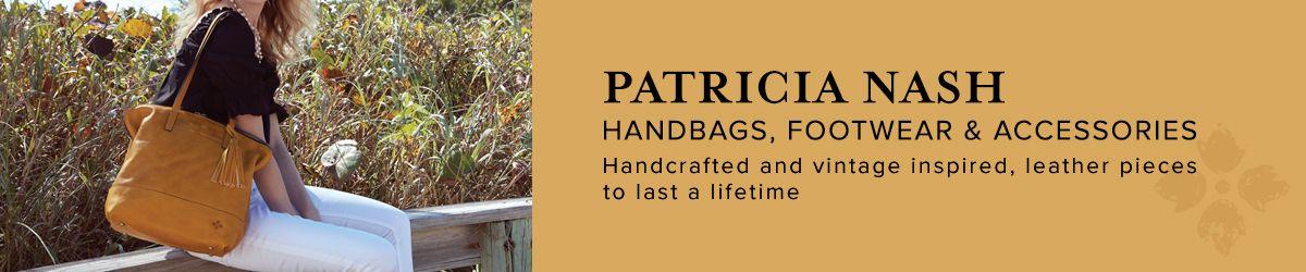Patricia Nash, Handbags, Footwear and Accessories