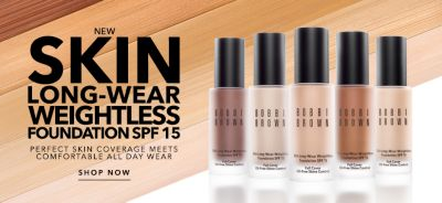 New Skin Long-Wear Weightless Foundation Spf 15, Perfect Skin Coverage Meets Comfortable All Day Wear, Shop now