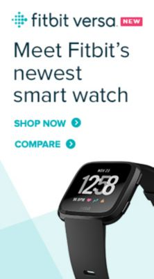 Fitbit, Versa, Meet Fitbit's newest smart watch, Shop Now, Compare
