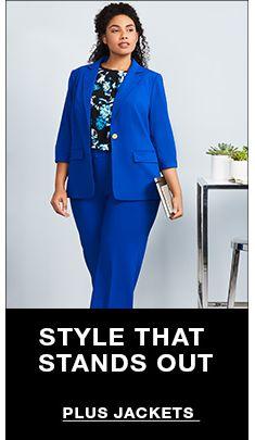 832d22cb99823 Plus Size Suits - Macy s