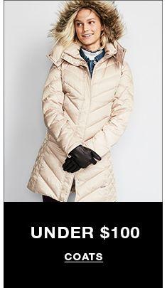 Under $100, Coats