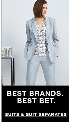 Best Brands, Best Bet, Suits and Suit Separates