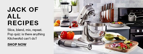 Jack of All Recipes, Slice, blend, mix, repeat, Pop quiz: is there anything KitchenAid can't do? Shop Now