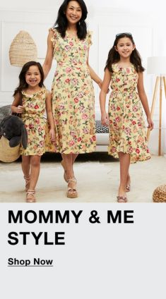 Mommy and Me Styles, Shop Now