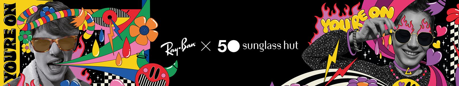 You're On, Ray-ban X 50 sunglass hut