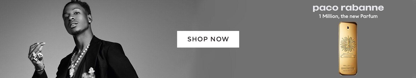 Shop Now, Paco Rabanne, 1 Million, the new Parfum