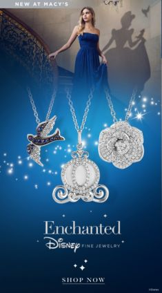 New at Macy's, Enchanted Disney Fine Jewelry, Shop Now