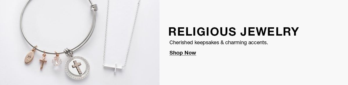 Religious Jewelry, Cherished keepsakes and charming accents, Shop Now
