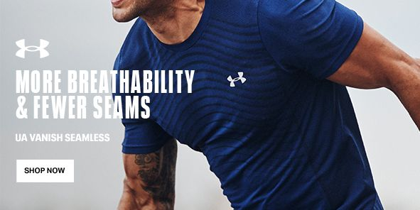 More Breathability and Fewer Seams, UA Vanish Seamless