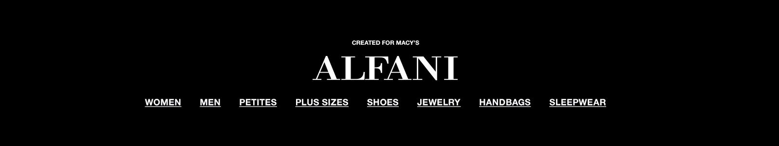 Created For Macy's, Alfani