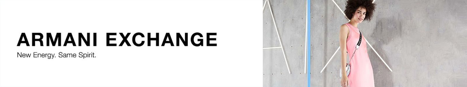 Armani Exchange, New Energy Spirit.