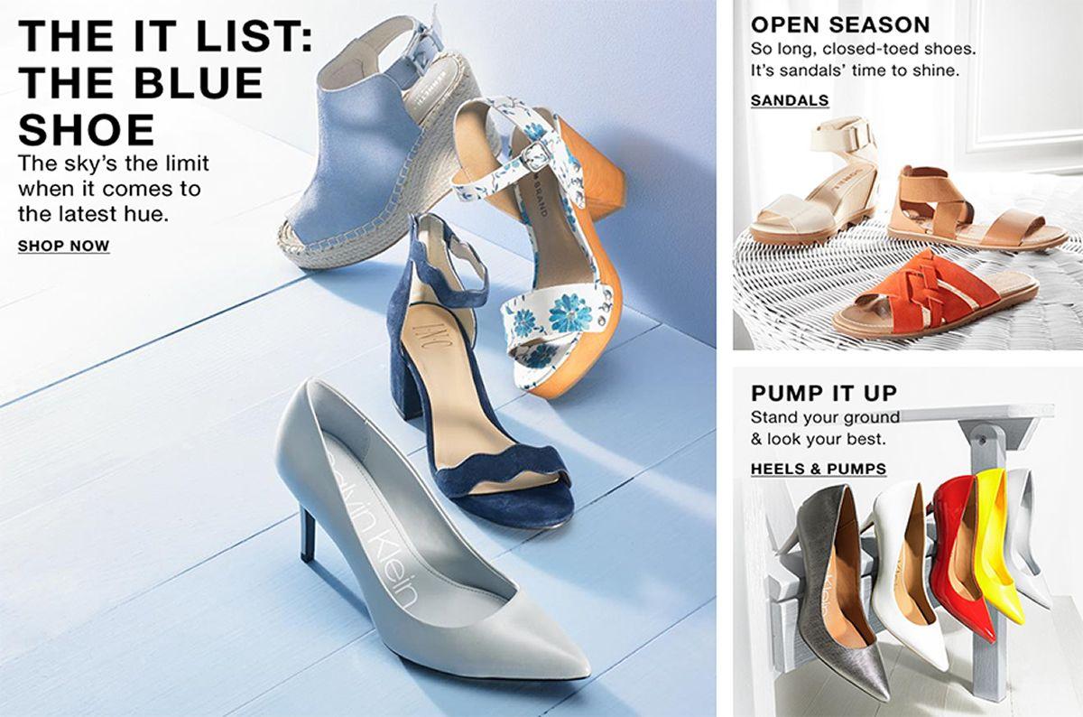 36938c3c91f The it List  The Blue Shoe