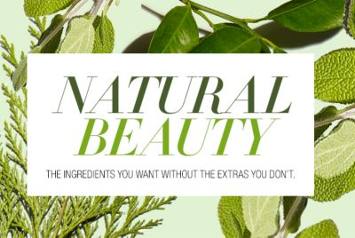 Natural Beauty, The Ingredients You Want Without The Extras You Dont