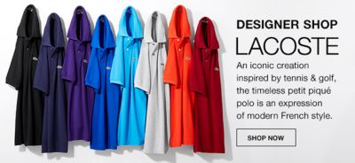 Designer Shop Lacoste, Shop now