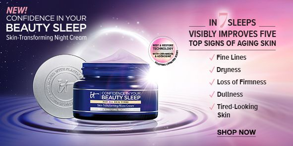 New! Confidence in Your Beauty Sleep, In 7 Sleeps Visibly Improves Five Top Signs of Aging Skin, Shop Now