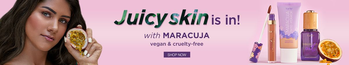 Juice Skin is in! with Maracuja vegan and cruelty-free, Shop Now
