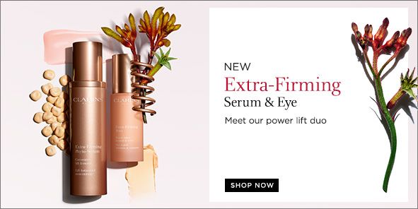 New, Extra-Firming, Serum and Eye, Meet our power lift duo, Shop Now
