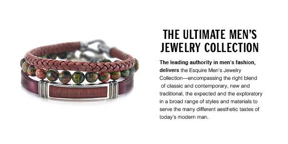 The Ultimate men's Jewelry Collection, The leading authority in men's fashion, delivers