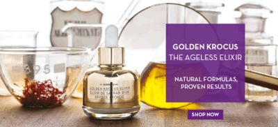 Golden Krocus The Ageless Elixir, Natural Formulas Proven Results, Shop now