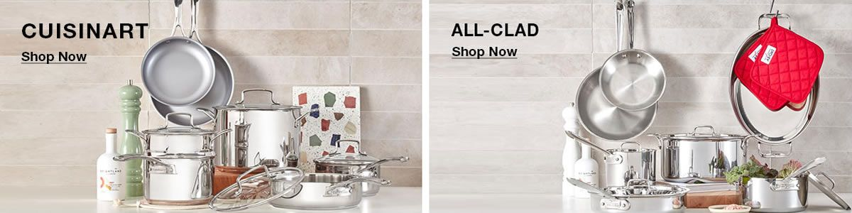 Cuisinart, Shop Now, All-Clad, Shop Now