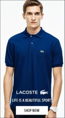 Red Lacoste Sport Juniors  Polo Shirt