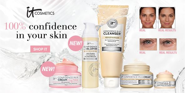 100 percent confidence in your skin, Shop it
