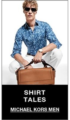 Shirt Tales, Michael Kors men