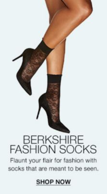 Berkshire Fashion Socks, Flaunt your flair for fashion with socks that are meant to be seen, Shop now