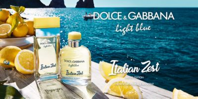 Dolce and Gabbana loght blue, Italian zest, Limited Edition