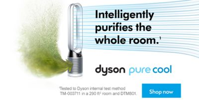 Intelligently purifies the whole room, dyson pure cool, Shop Now