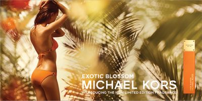 Exotic Blossom, Michael Kors, Introducing The New Limited Edition Fragrance