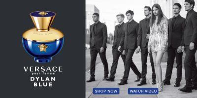 Versace, Dylan Blue, Shop now, Watch Video