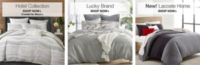 Hotel Collection, Shop Now, Lucky Brand, Shop Now, New! Lacoste Home