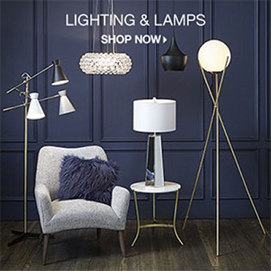 Lighting and Lamps, Shop now