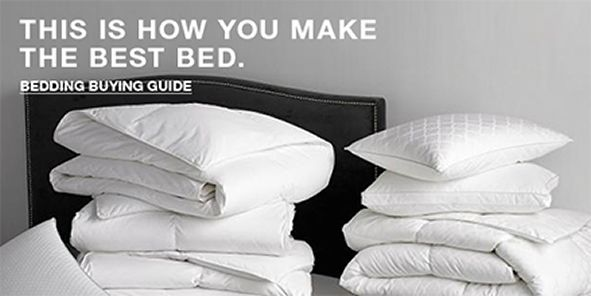 This is How You Make The Best Bed, Bedding Buying Guide