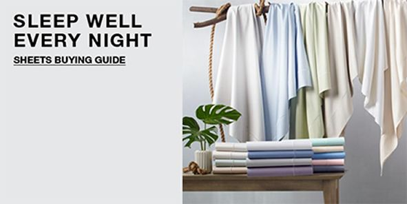 Sleep Well Every Night, Sheets Buying Guide
