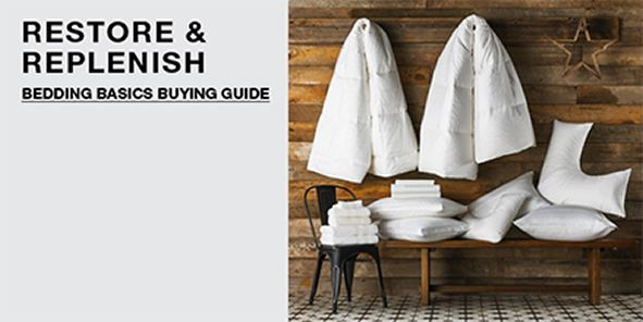 Restore and Replenish, Bedding Basics Buying Guide
