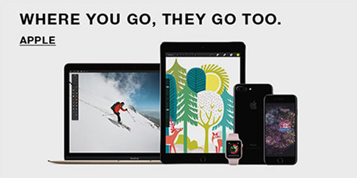 Where You go, They go too, Apple