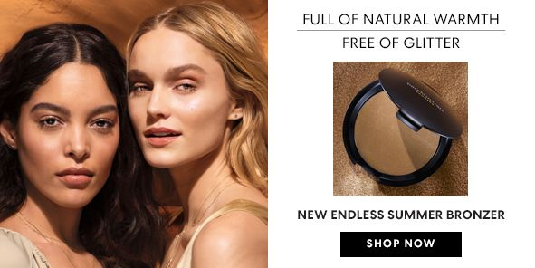 Full of Natural Warmth, Free of Glitter, New Endless Summer Bronzer, Shop Now