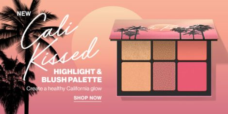 Smashbox New Cali Kissed Highlight And Blush Palette Create A Healthy California Glow